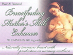 Breast Feeding Milk Enhancer